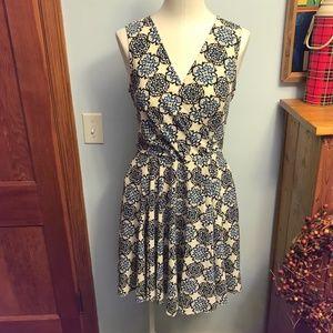 Closet london sleeveless wrap waist tie dress